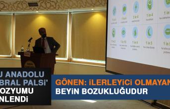 'Doğu Anadolu Serebral Palsi' Sempozyumu Düzenlendi