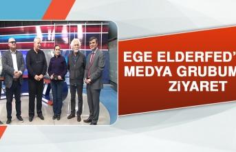 EGE ELDERFED'ten Medya Grubumuza Ziyaret