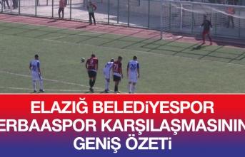Elazığ Belediyespor -  Erbaaspor Karşılaması Özeti
