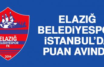 Elazığ Belediyespor, İstanbul'da Puan Avında