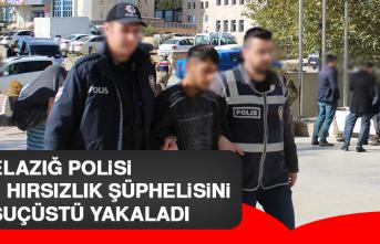 Elazığ Polisi 2 Hırsızlık Şüphelisini Suçüstü Yakaladı