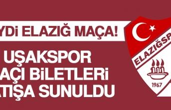 Elazığspor-Uşakspor Maçı Biletleri Satışa Sunuldu