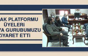 ELHAK Platformu Üyeleri Medya Gurubumuzu Ziyaret Etti