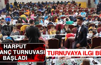 Harput Satranç Turnuvası Başladı