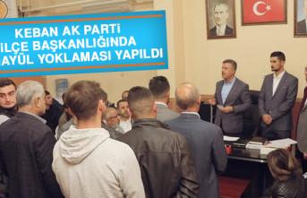 Keban AK Parti İlçe Başkanlığında Temayül Yoklaması Yapıldı