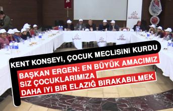 Kent Konseyi, Çocuk Meclisini Kurdu
