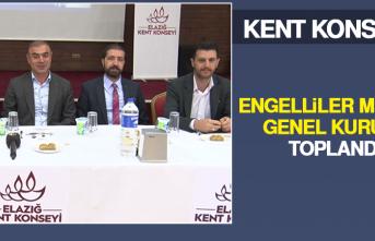 Kent Konseyi Engelliler Meclisi Genel Kurulu