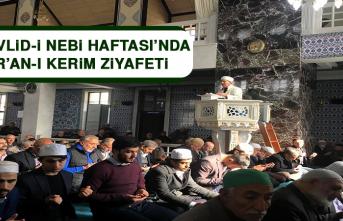Mevlid-İ Nebi Haftası'nda Kur'an-I Kerim Ziyafeti