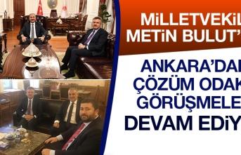 Milletvekili Bulut Elazığ'ın Sorunlarıyla İlgili Görüşmelere Devam Ediyor