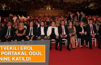 Milletvekili Erol, Altın Portakal Ödül Törenine Katıldı