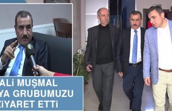 Vali Muammer Muşmal Medya Grubumuzu Ziyaret Etti