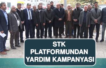 STK Platformundan Yardım Kampanyası