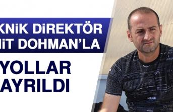 Teknik Direktör Ümit Dohman'la Yollar Ayrıldı