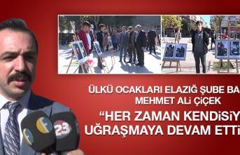 Ülkü Ocakları Ulu Önder Atatürk'ü Andı