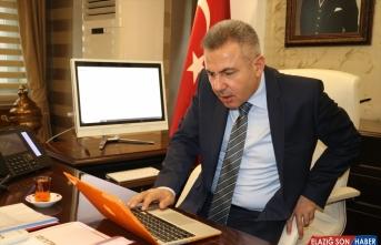 Ağrı Valisi Elban, AA'nın