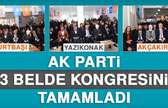 AK Parti, 3 Belde Kongresini Tamamladı
