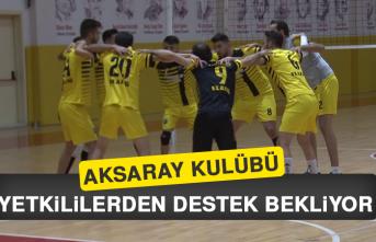 Aksaray Kulübü, Yetkililerden Destek Bekliyor