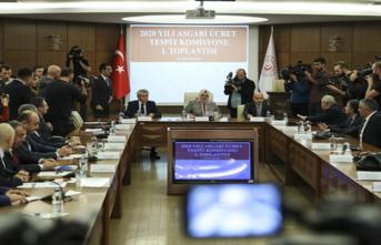 Asgari Ücret Tespit Komisyonu'nun İlk Toplantısı Sona Erdi