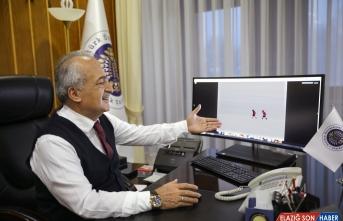 Atatürk Üniversitesi Rektörü Çomaklı, AA'nın