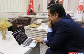 Başkan Mustafa Çetin, AA'nın