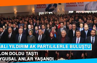 Binali Yıldırım'a AK Parti İl Toplantısında Büyük İlgi