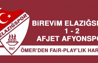 Birevim Elazığspor 1-2 Afjet Afyonspor