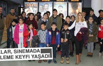 Çocuklar, Sinemada Film İzleme Keyfi Yaşadı