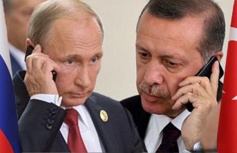 Cumhurbaşkanı Erdoğan, Putin İle Görüştü