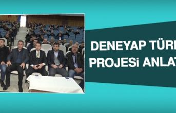 """""""DENEYAP TÜRKİYE PROJESİ""""NİN TANITIM TOPLANTISI GERÇEKLEŞTİRİLDİ"""
