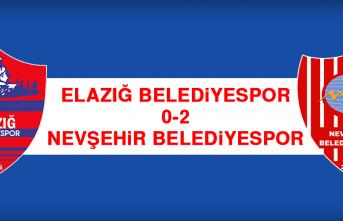 Elazığ Belediyespor 0-2 Nevşehir Belediyespor