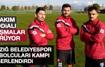 Elazığ Belediyespor Futbolcuları Kampı Değerlendirdi