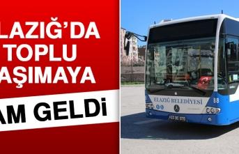 Elazığ'da Toplu Taşıma Ücretlerine Zam Geldi