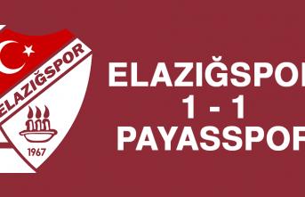 Elazığspor 1-1 Payasspor