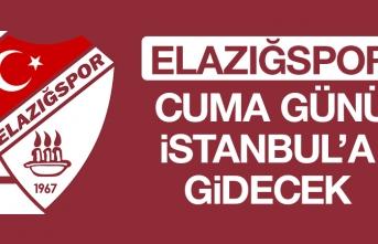Elazığspor, Cuma Günü İstanbul'a Gidecek