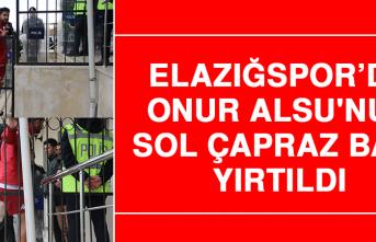 Elazığspor'da Onur Alsu'nun Sol Çapraz Bağı Yırtıldı