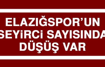 Elazığspor'un Seyirci Sayısında Düşüş Var