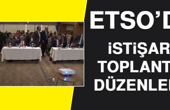ETSO'DA, Sigorta Sektörü Bölgesel İstişare Toplantısı Düzenlendi