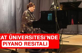 Fırat Üniversitesi'nde Piyano Resitali
