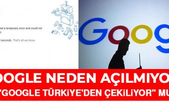 Google ve Youtube neden çöktü? Uygulamalar neden açılmıyor?