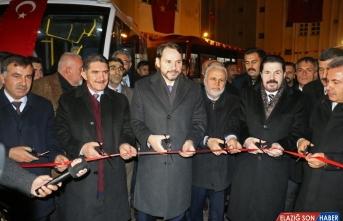 Hazine ve Maliye Bakanı Albayrak, Ağrı'da