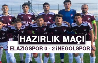 Hazırlık Maçı / Elazığspor 0 - 2 İnegölspor