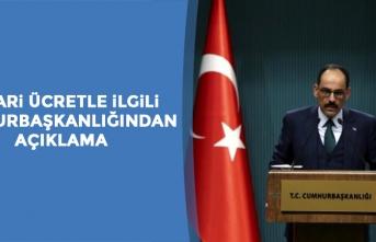 """İbrahim Kalın'a Erdoğan'ın """"Asgari Ücrette Jestimizi Yaparız"""" Sözleri Soruldu"""
