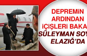 İçişleri Bakanı Süleyman Soylu Elazığ'da