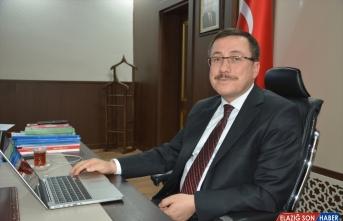 İnönü Üniversitesi Rektörü Prof. Dr. Ahmet Kızılay, AA'nın