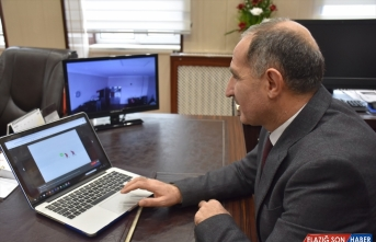 Kafkas Üniversitesi Rektörü Kapu, AA'nın