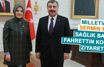 Milletvekili Balık'tan Sağlık Bakanı Koca'ya Ziyaret