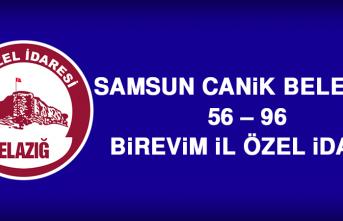 Samsun Canik Belediye 56 – 96 Birevim İl Özel İdare