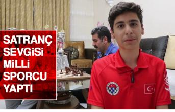 Satranç Sevgisi Milli Sporcu Yaptı