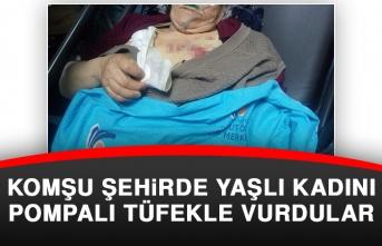 Yaşlı Kadını Pompalı Tüfekle Vurdular