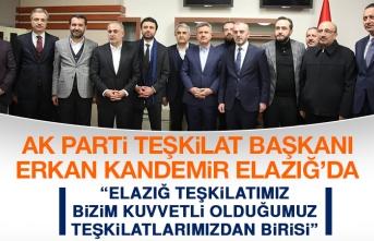 AK Parti Teşkilat Başkanı Erkan Kandemir Elazığ'da